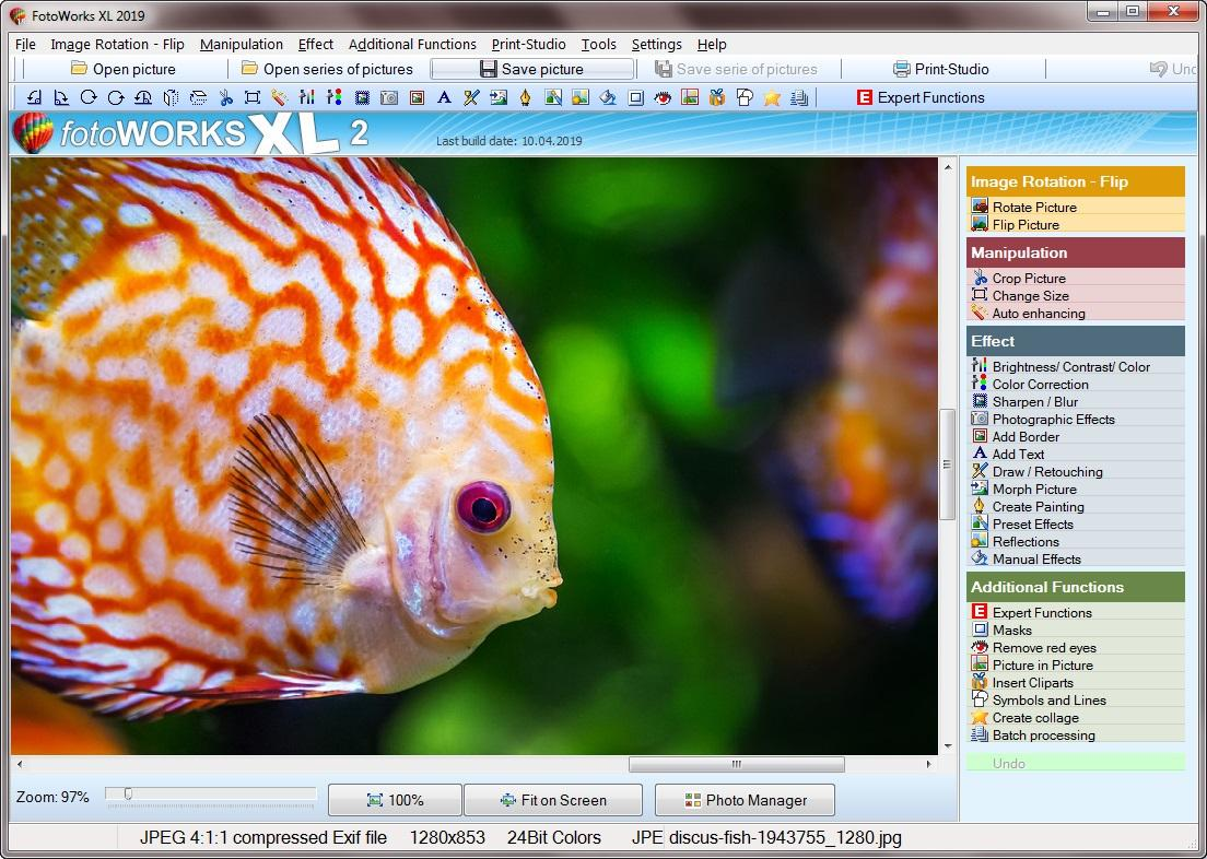 Photo Editing Software for Windows 10 for Edit Images